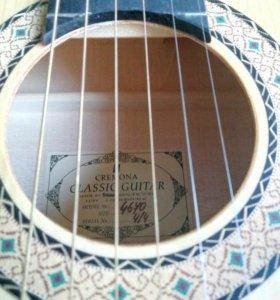 Кримона Классическая гитара с укрепленным грифом