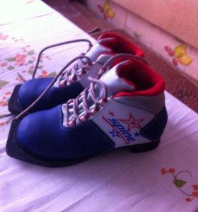 Лыжные ботинки подростковые
