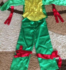Карнавальный костюм Черепашка ниньзя