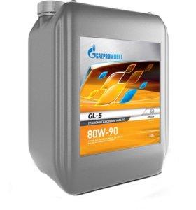 Трансмиссионное масло Gazpromneft GL-5 80w90 10л