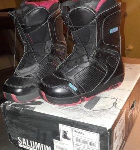 Ботинки и крепления для сноуборда