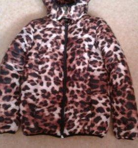 Куртка зимняя(глория джинс ) на девочку 8лет