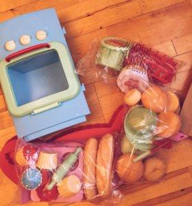 Детская Кухня Новая Игрушки