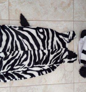 Костюм зебры