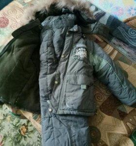 зимний костюм на 3-6лет
