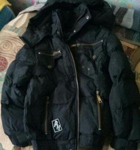 зимняя куртка на 6-7лет