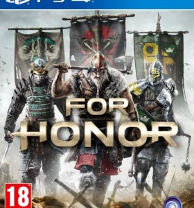 Игра For Honor новый PS4