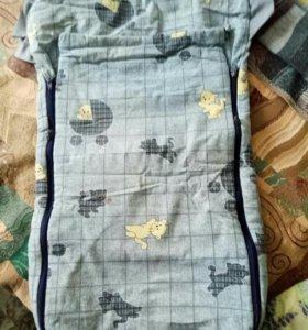 конверт в коляску и для дома-спальный мешок
