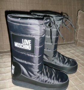 Луноходы новые Love Moschino 37 размер
