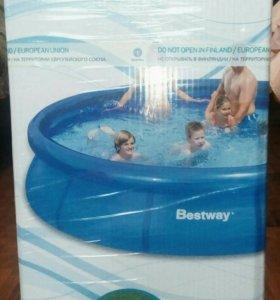 Новый бассейн Fast Set 305cm x 76 cm
