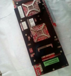 Видеокарта HD 3870*2 1 Gb двухпроцессорная