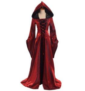 Карнавальное платье ретро-викторианское