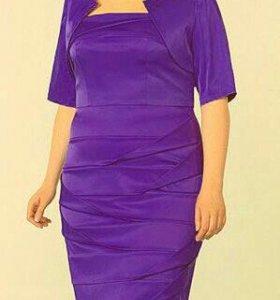 Платье р.52-54 + клатч в подарок!