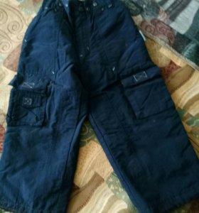 брюки на 3-5лет,не продувают.
