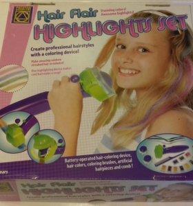 Стильный прибор для окрашивания волос