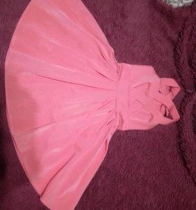 Платье (розовое)