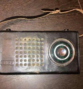 Радиоприемник СССР Selga 404 с сумкой