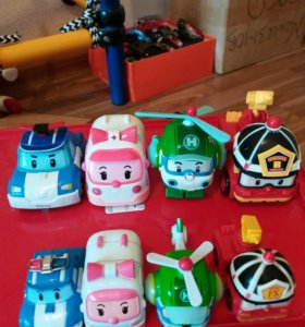 Поли робокар и команда спасателей