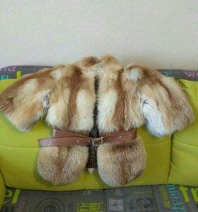 Курточка из лисы