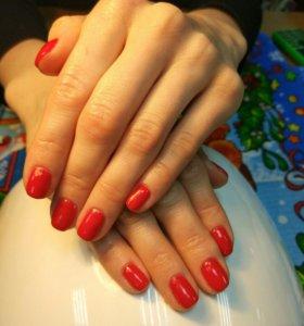 Маникюр, педикюр, укрепление и наращивание ногтей