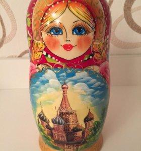 Матрешка новая 7 кукол Москва