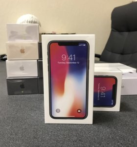 Новый iPhone X 64gb рст, запакован