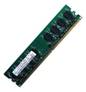 Память DDR2 Samsung