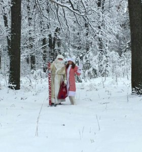 Дед Мороз  и Снегурочка ! От 300 рублей