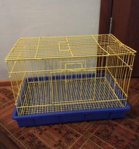 Клетка для кроликов или морских свинок.