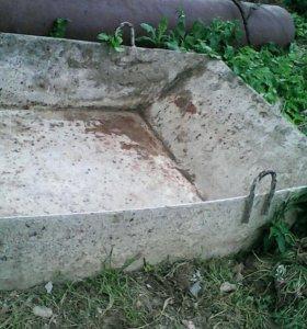 Корыто под раствор или бетон