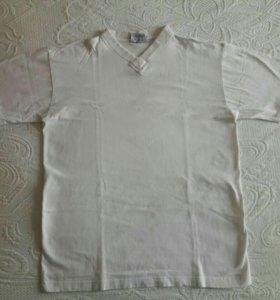 Мужская футболка на 44-48 р-р. 100% х.б.