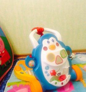 Ходунки-каталка Chicco Пингвин