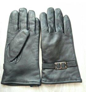 Перчатки кожа новые