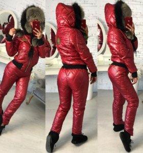 Зимний костюм женский очень теплый