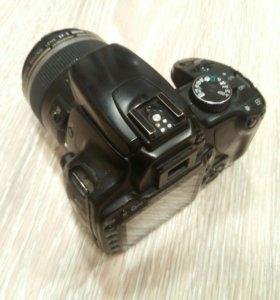 Зеркальная фотокамера Canon eos 400D с объективами