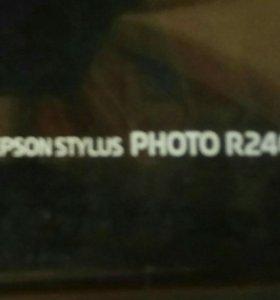 Фотопринтер Epson stylus R240 PHOTO