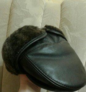 Шапка(натур.кожа)