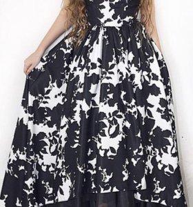 Роскошное вечернее новое платье