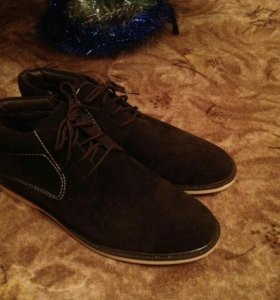 Новая замшевая мужская обувь Oronzo