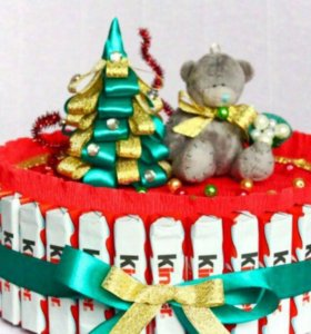 Тортики из kinder chocolate