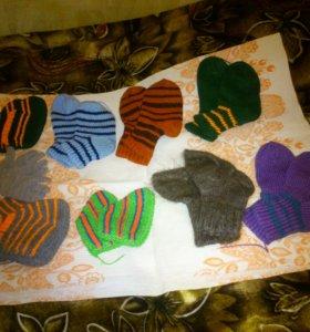 носки, перчатки