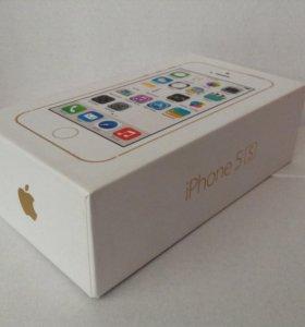 iPhone 5 s золотой (32 гб)