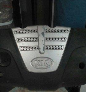 Крышка от двигателя киа рио