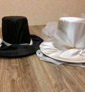 Свадебное украшение - шляпы