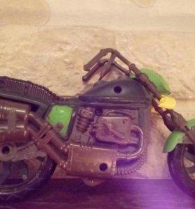 Мотоцикл черепашек-ниндзя.
