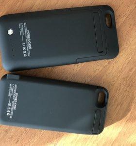 PowerCase,Чехлы Аккумуляторы iPhone 5,5s,SE,6,6S