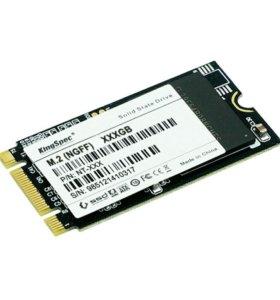 Продам SSD M.2 KingSpec 2242 128gb новый