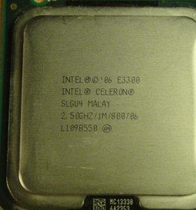 Intel E3300  2500Mhz