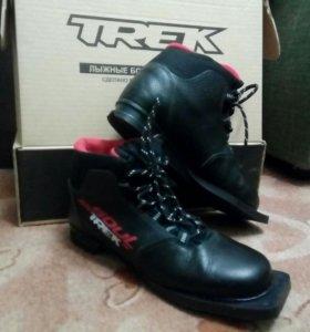 Ботинки лыжные TREK SOUL HK (черн, натур. Кожа)