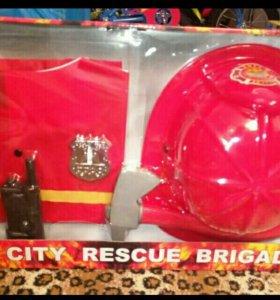 набор пожарного,новый